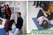 Primeros auxilios y atención al alumnado con enfermedades crónicas