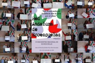 La Red Andaluza de Ecoescuelas se reúne en Ermita Vieja