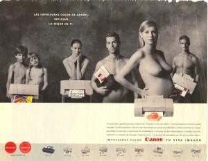 Canon Publicidad