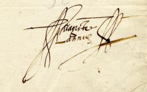 Firma Juan Latino