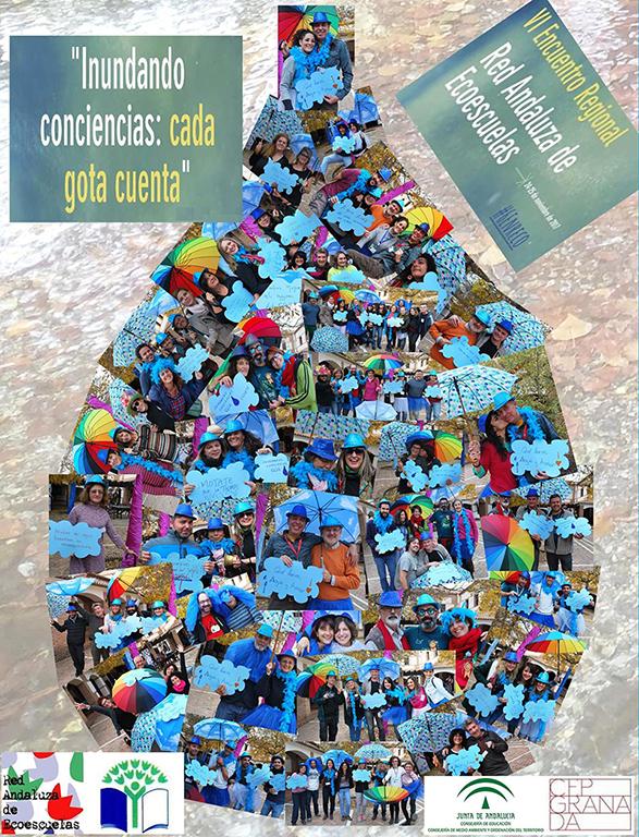 Photocall inundando conciencias: cada gota cuenta