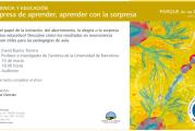 INVITACIÓN A CONFERENCIA NEUROEDUCACIÓN CON DAVID BUENO I TORRENS