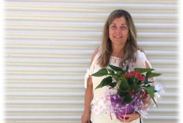 Agradecimiento de la Red Provincial de Bibliotecas Escolares a Carmen Ballesteros